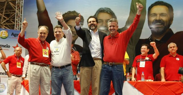 Convenção chapa pt 2010