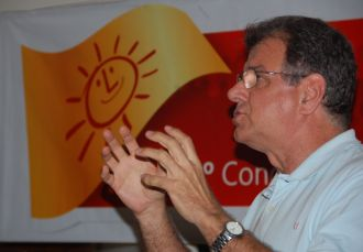 Durante o Congresso Regional do Psol-DF, Toninho do Psol deverá ser aclamado pré-candidato do partido a governador do Distrito Federal.  Foto de Chico Sant'Anna