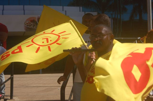 Militantes do Psol foram agredidos na Ceilândia quando denunciavam irregularidades no GDF de Agnelo