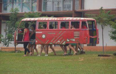 Alunos da UnB desenvolvem nova tecnologia de transporte coletivo. Fotos: Chico Sant'Anna