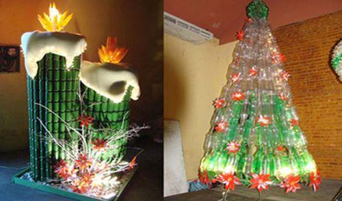 Latas de bebidas e garrafas pet são usadas pela prefeitura de João Pessoa. No Pará, Universidade Federal ensina a reaproveitar material descartável. Beleza sem resíduos.