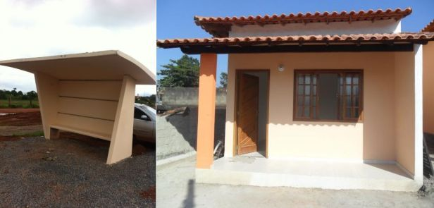 abrigo + casa popular