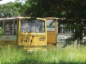 A Viplan e a Lotaxi, do Grupo Canhedo, foram impedias em participar da licitação das novas linhas de ônibus. Mas ainda estão rodando pela Capital. Foto: Chico Sant'Anna