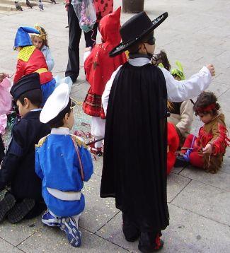 Carnaval  infantil em O Porto - Portugal. Foto de Chico Sant'Anna