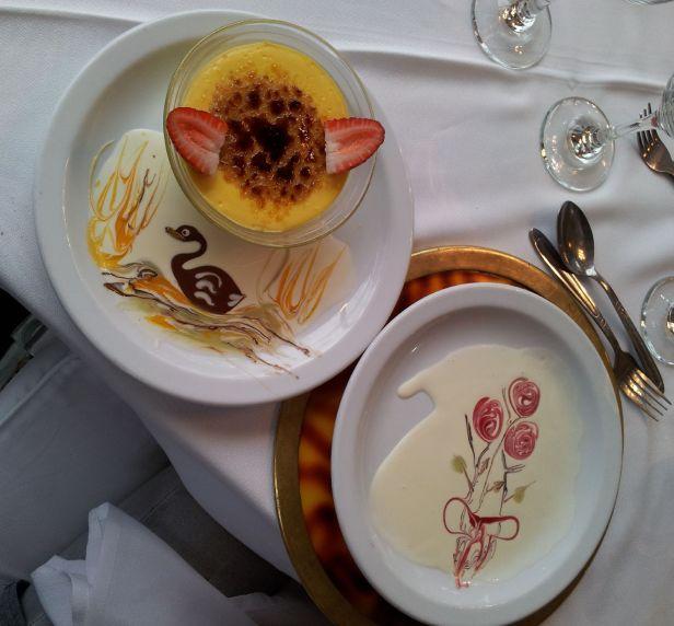 A arte de pintar e decorar os pratos se associa à culinária.
