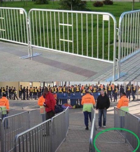 Três tipos de grades estão sendoadquiridas pelo Pnud para que o GDF possa cercar a área do estádio.