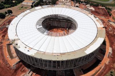 Estádio Mané Garrincha. Foto Lula Lopes/GDF
