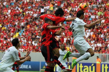 Santos e Flamengo