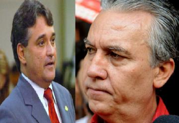 """Pelo PT, Chico Leite e Magela querem a mesma vaga: a do senador Gim Argelo PTB-DF que terá que escolher outro projeto. Chico Leite também ameaça """"marinar"""" e ir para o partido da Rede."""