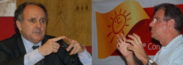 O senador Cristovam Buarque e o presidente do Psol-DF são, segundo pesquisa, os melhores nomes para vencer o petismo e o ririzismo