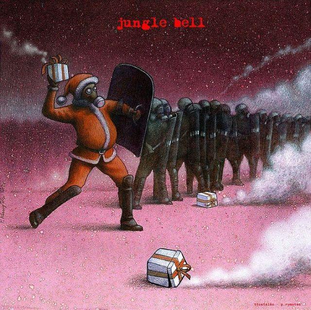 Foto-protesto Jungle Bell
