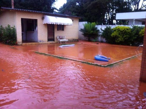Inundação lago