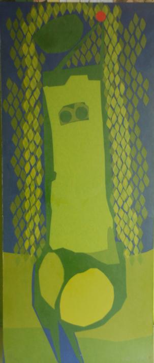 Serigrafia Eva, de Glênio Biancheti, 1970