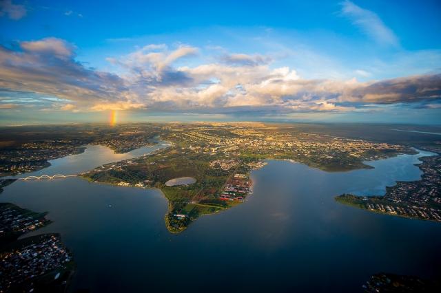 1.-Vista aérea PlanoPiloto Foto-Bento Viana