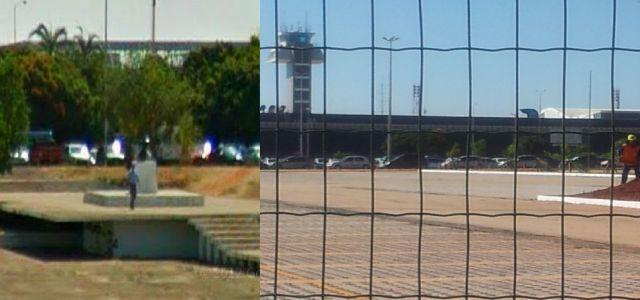 Aeroporto - Praça Santos Dumont