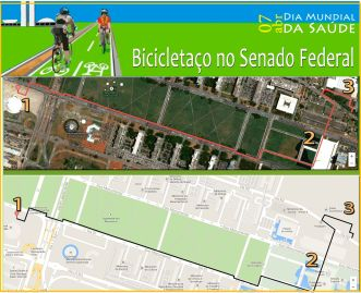 mapa bicicletaço