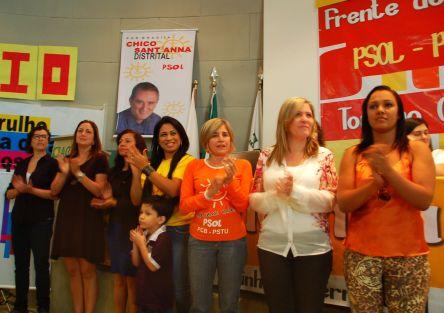 Candidatas distritais doPsol