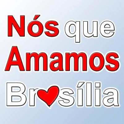 Logo nos que amamos brasília