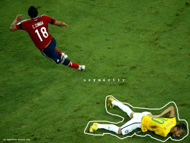 Foto-protesto Neymar
