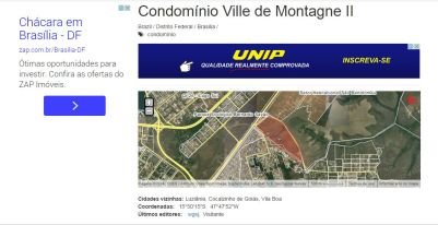 Grileiros no Ville deMontagne anuncio2