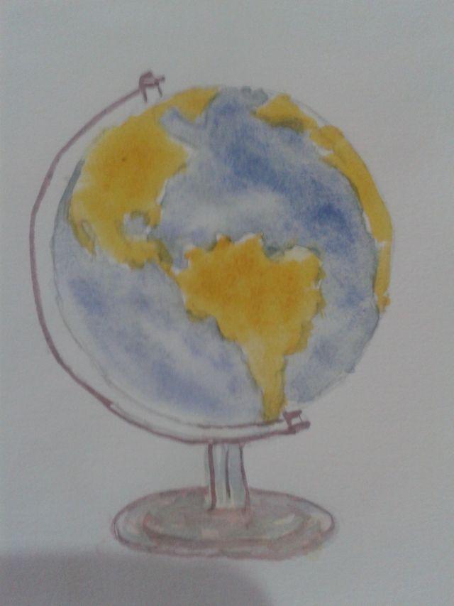 Globo terrestre -- Gabi