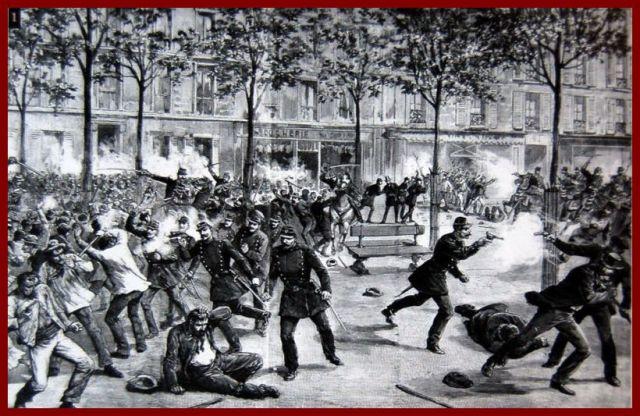1º de Maio – Dia do Trabalhador e da Solidariedade, Chicago, EUA, 1886.