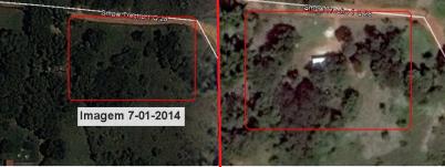 Visão aérea Invasão na QD 28 2014-2015