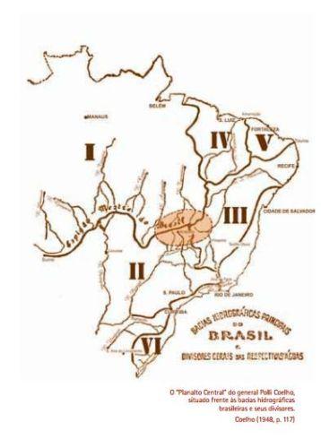 mapa do dfcomas bacias hidrograficas polli coelho