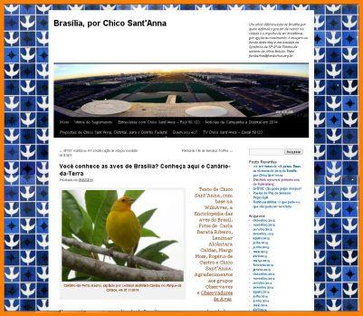 fac simile blog canário da terra