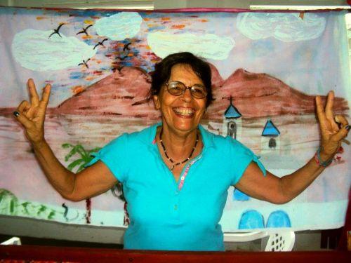 Minnie Sardinha: da tecelagem à pintura naive