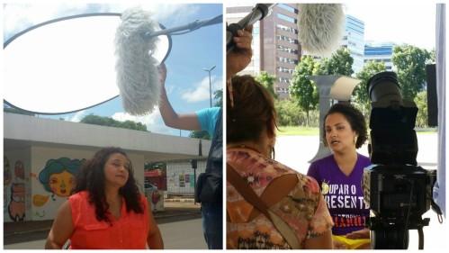 Todas as gravações do programa do Psol foram realizadas em locações de Brasília