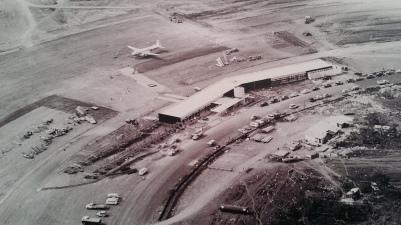 Aeroporto de Brasília, na década de 1960