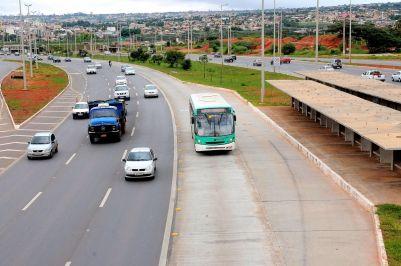 Numasegunda etapa, estações do BRT na EPTG tambémdeverão ter a gestão terceirizadas.Foto de Lula Lopes
