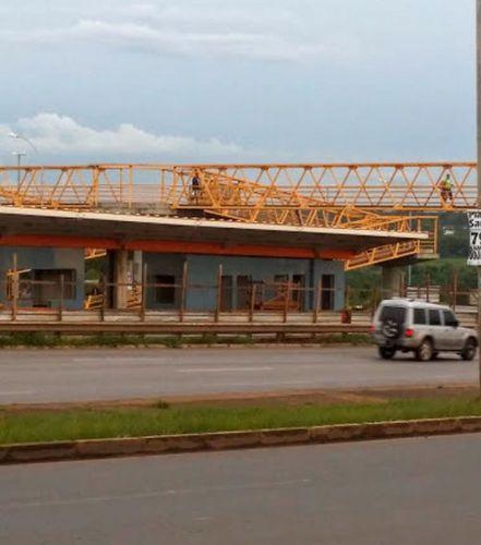 Estação BRT Candangolândia abandonada3