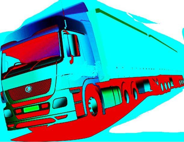 caminhão estilizado