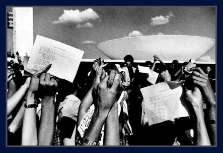 Congresso Nacional Manifestantes 1969