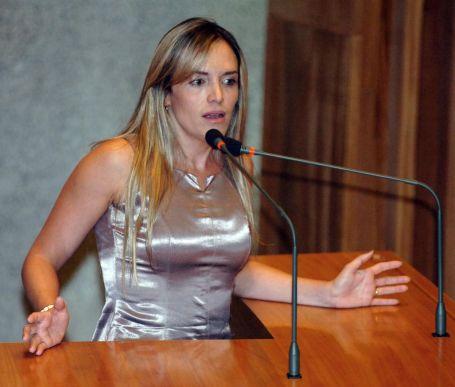 Ninguém quer falar sobre o pedido de expulsão de Celina Leão do PPS. Foto Ascom-CLDF