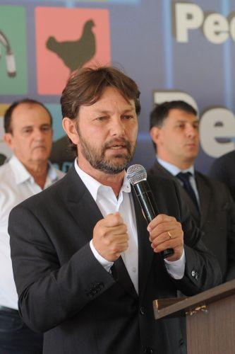 Joe Valle, presidente da Fape considera que o agronegócio é compativel com o potencialhidrico do DF. Foto de Gabriel Jabur/Agência Brasília.