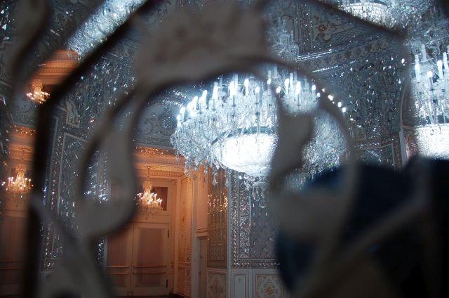 Interior da sede do ministério dos Negócios Estrangeiros da República Islâmica do Irã.