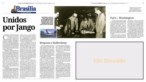 Publicado originalmente na coluna Brasília, por Chico Sant'Anna do semanário Brasília Capital.
