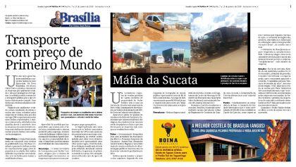 Publicado originalmente na coluna Brasília, por Chico Sant'Anna, no semanário Brasília Capital