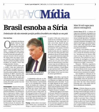 Publicado originalmente no semanário Brasília Capital.
